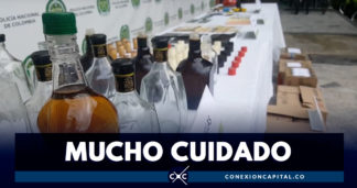 Autoridades incautaron más de 100 botellas de licor adulterado
