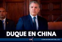Presidente Duque realizará primera visita oficial a China