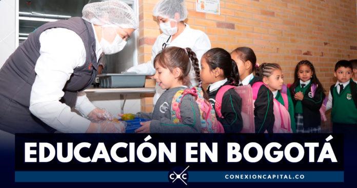 Bogotá completa 156 comedores escolares operando