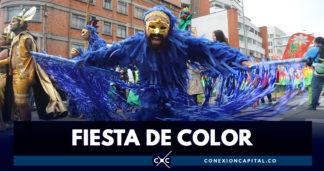 El tradicional desfile de comparsas de Bogotá rendirá homenaje al Bicentenario de Independencia