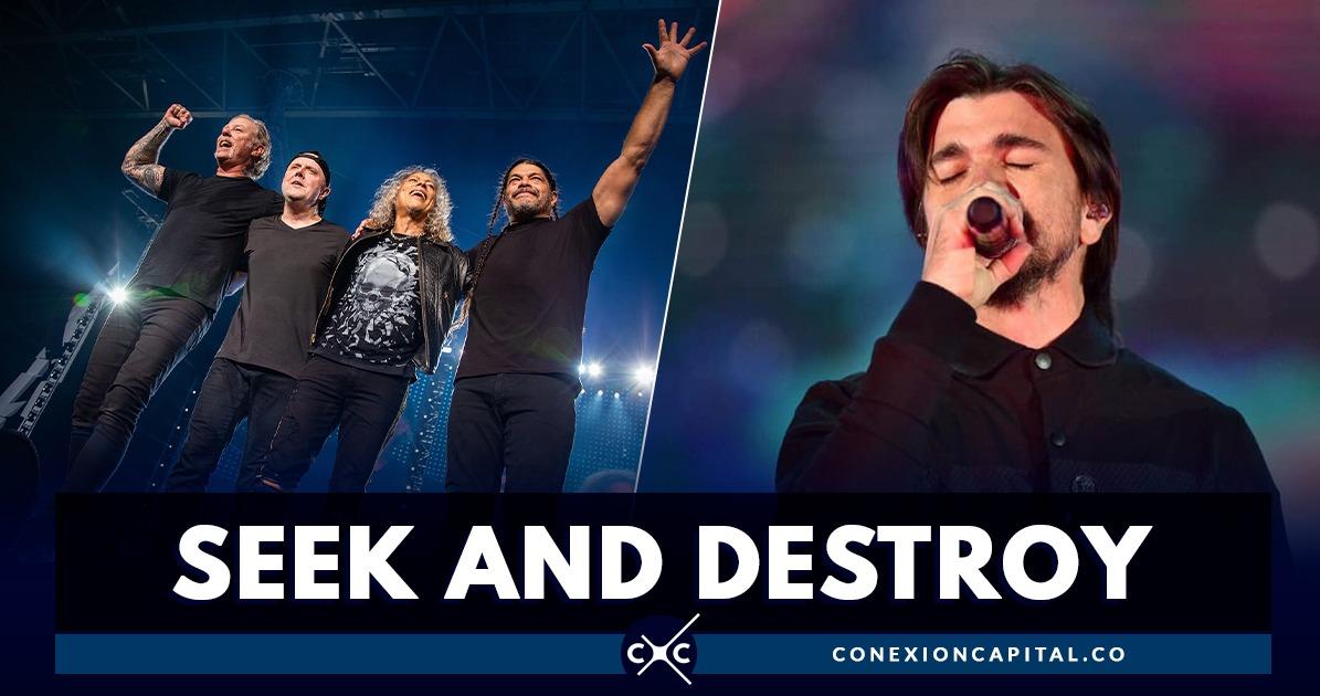 Metallica Se Rinde Ante Cover De Juanes En Rock Al Parque