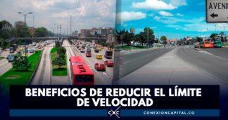 reducción del límite de velocidad