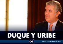 relación del presidente duque con Uribe