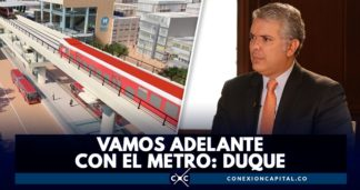 duque habla sobre el metro de Bogotá