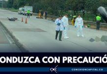 accidentes de motos en Bogotá