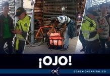 transmilenio multas bicicletas