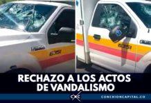 ambulancia atacada en ciudad bolívar