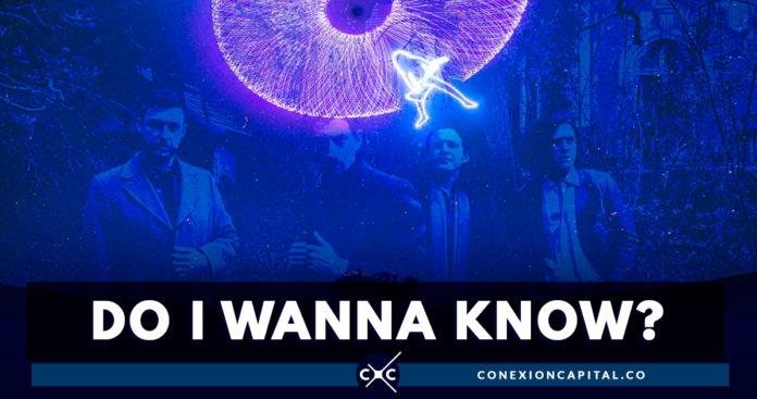 Show láser de Arctic Monkeys en el Planetario de Bogotá