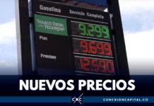 Así quedó el precio de la gasolina en Bogotá
