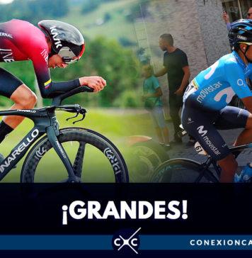 Egan Bernal y Nairo Quintana, en el top 10 de la general del Tour de Francia