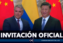 Presidente Duque invitó al presidente de la República Popular China a visitar Colombia