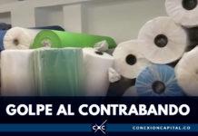 Autoridades decomisaron textiles de contrabando en el sur de Bogotá