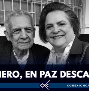 Falleció Carlos Romero, esposo de Clara López