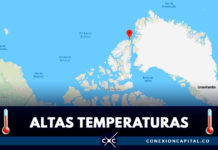 Récord absoluto de verano polar ártico en Alert, Polo Norte