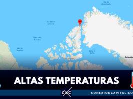 Récord absoluto de verano polar ártico en Alert, Polo Norte