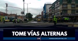 Muere ciclista en accidente de tránsito en Chapinero