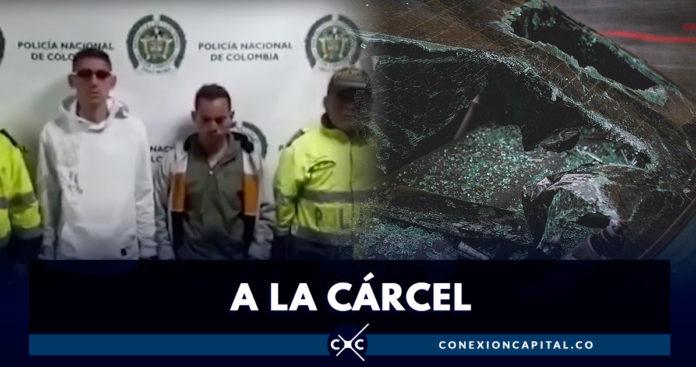 Caen dos rompevidrios en el sur de Bogotá