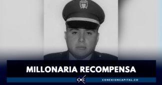 Millonaria recompensa por responsables del asesinato de policía en Barrios Unidos