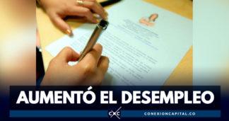 El desempleo en Colombia aumentó en junio
