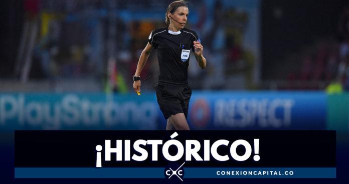 Una mujer árbitro dirigirá la final masculina de la Supercopa de la UEFA