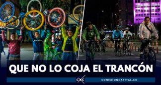 cierres viales por ciclovía nocturna