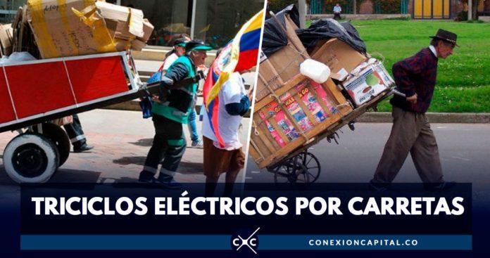 triciclos eléctricos por carretas