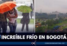 frío en Bogotá en agosto
