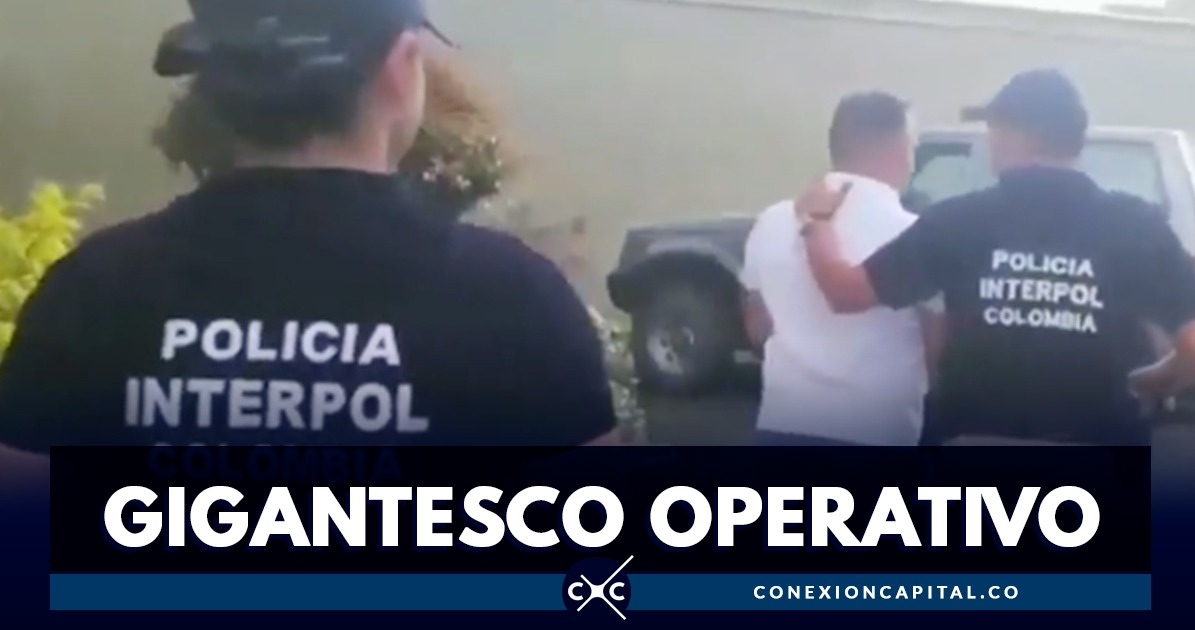 Capturan a 11 extraditables en operativo trasnacional