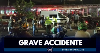 Dos personas fueron arrolladas cuando intentaban colarse en TransMilenio