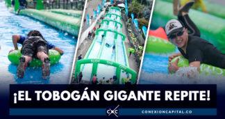 tobogán gigante regresa domingo