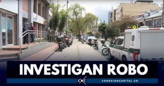 Reportan robo bancario en el barrio La Soledad