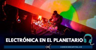 show de electrónica en Bogotá