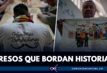 presos bordadotes en Bogotá