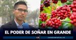 joven indígena que exporta café