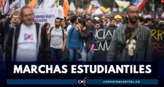 duque habla sobre marchas estudiantiles