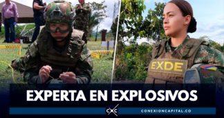 experta en explosivos