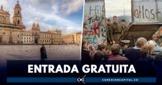 celebración de caída del muro de berlín