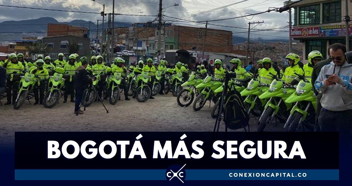 Alcaldía entrega 75 motos a la Policía para patrullaje en Ciudad Bolívar - Canal Capital