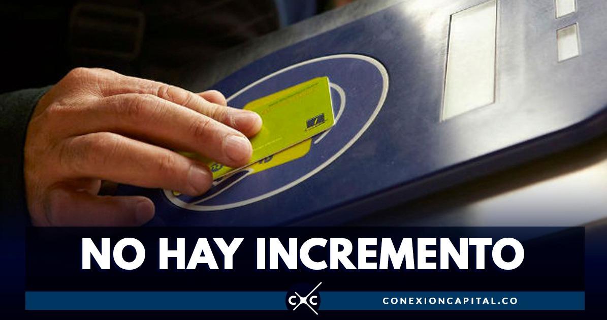 Atención: pasaje de TransMilenio no subirá de precio en lo que queda de 2019 - Canal Capital