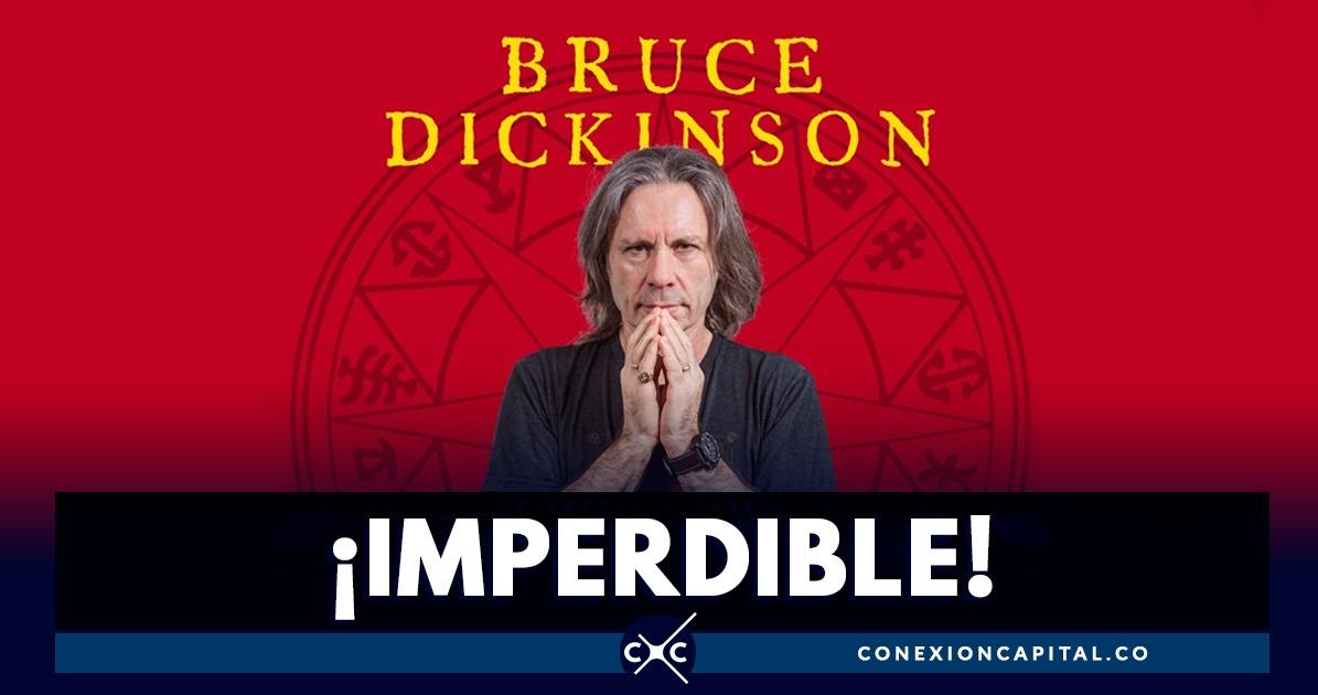 Bruce Dickinson Vocalista De Iron Maiden Hará Una