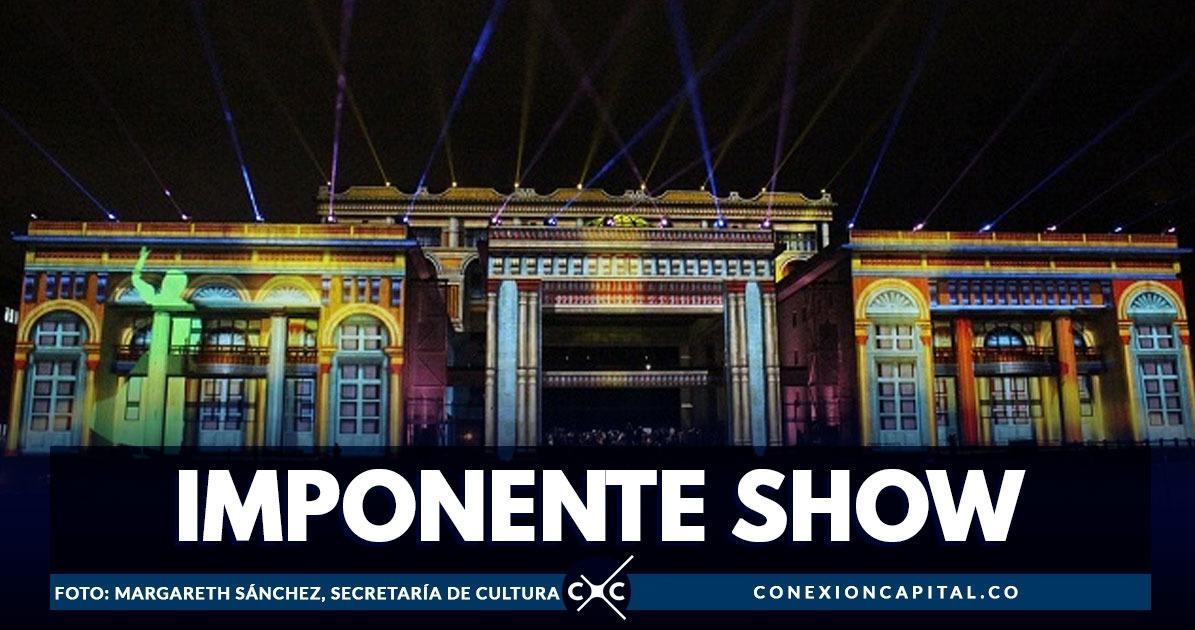 La Plaza De Bolívar Se Prepara Para Un Espectáculo De Talla