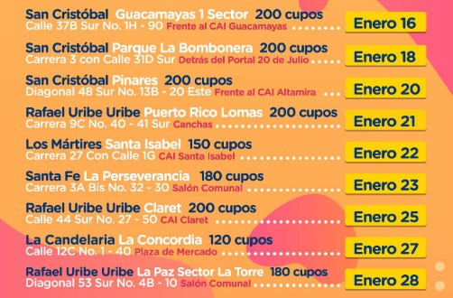 Jornadas gratuitas de esterilización para mascotas en Bogotá
