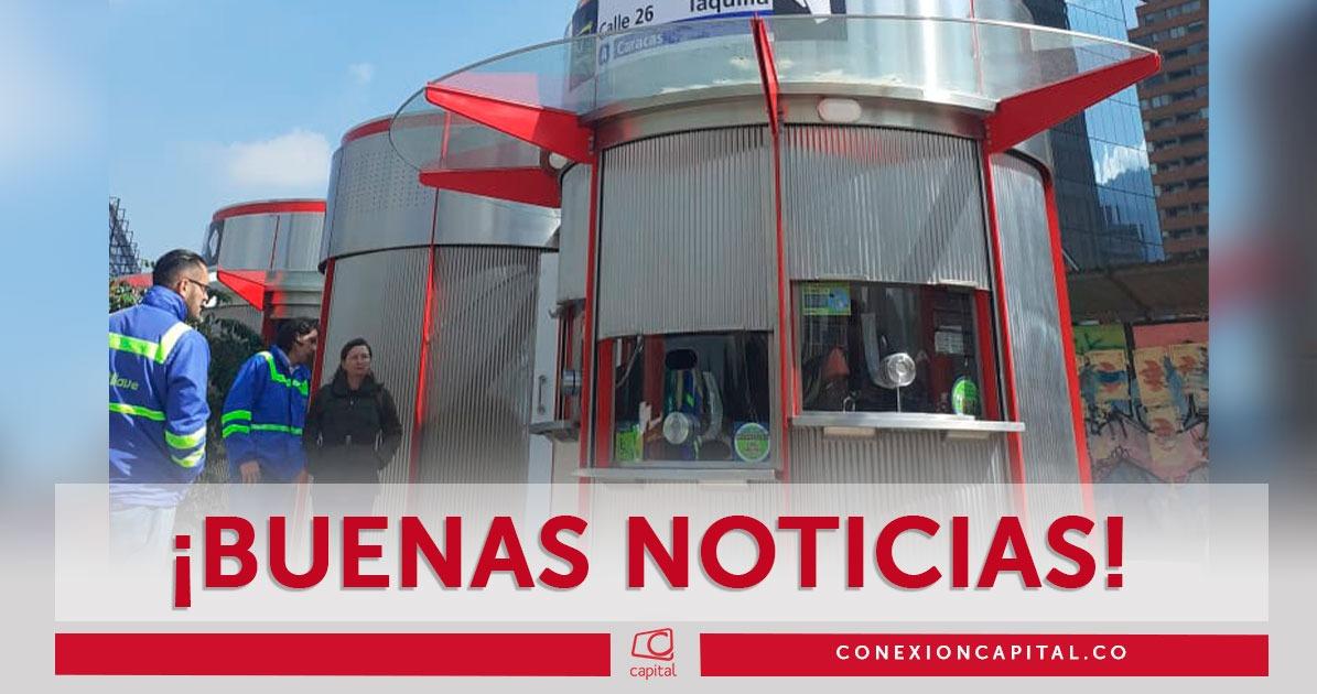 Instalan Taquillas Externas En Estacion De Transmilenio Calle 26
