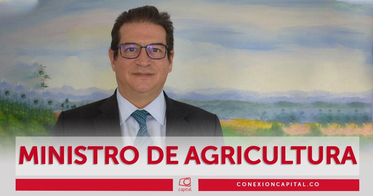 Atención Rodolfo Enrique Zea fue nombrado como nuevo ministro de Agricultura
