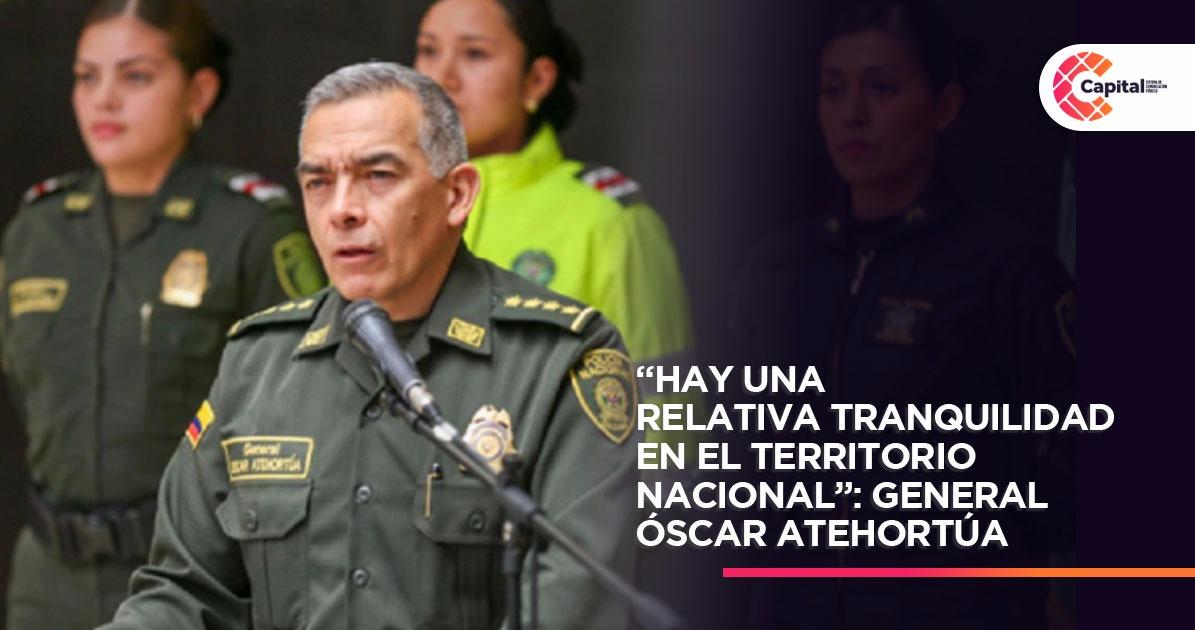Director de la Policía dio un reporte de los primeros días de ...