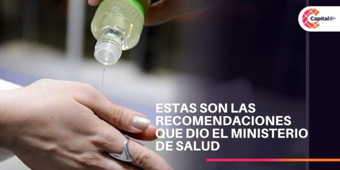 indicaciones ministerio de salud de Colombia