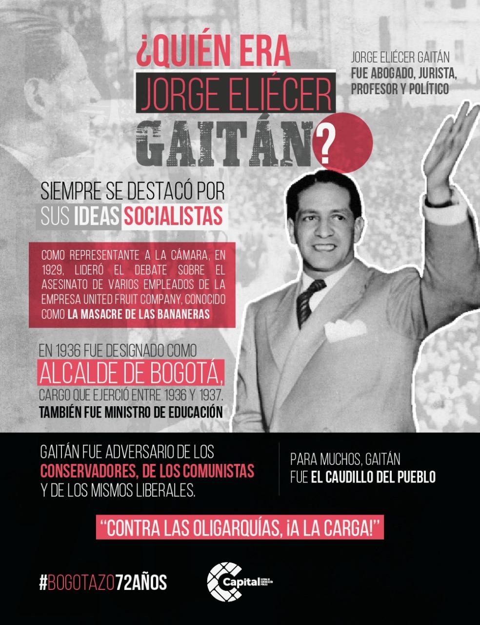 ¿Quién era Jorge Eliécer Gaitán?