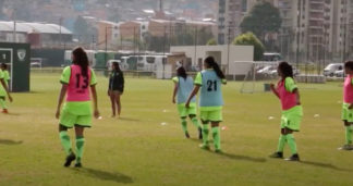 Futbolistas Liga Femenina.