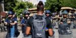Manifestantes desafían toque de queda en Nueva York