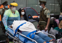 Chile reportó récord de fallecidos por COVID-19